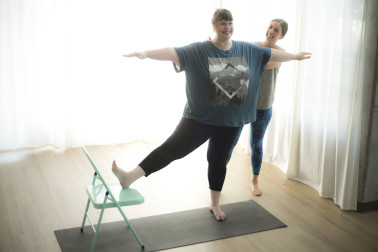 Yoga for Bigger Bodies with Julie