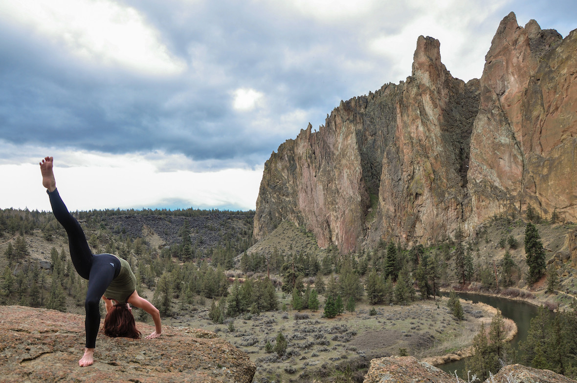 Backbend at Smith Rock